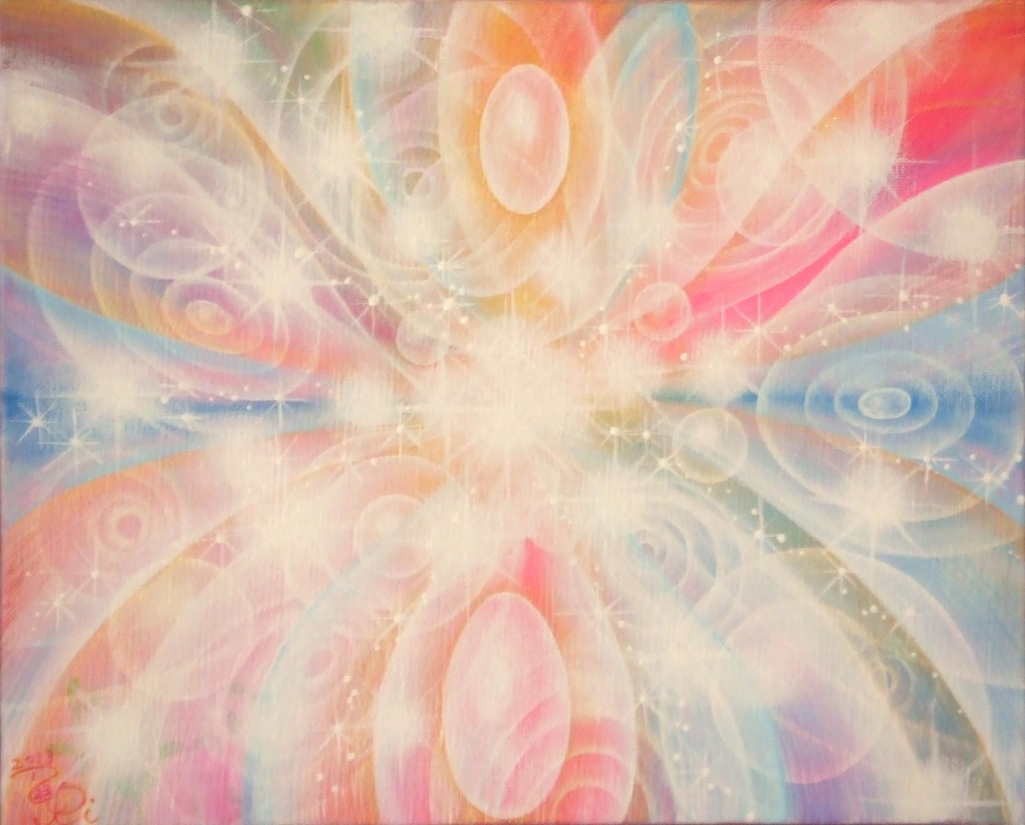 光の絵 真実の純粋な天使