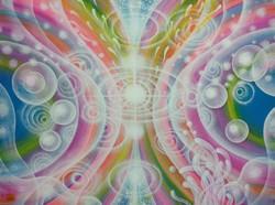 光の絵 M.H様~循環する愛 F6