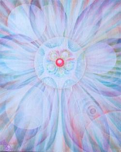 光の絵 透明になりゆく魂