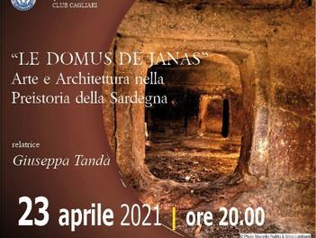 """Conferenza """"Arte e Architettura nella Preistoria della Sardegna. Le domus de janas"""""""