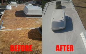 Waterproofing - Wollongong Caravan repairs