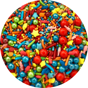 Pool Party Candy Sprinkle Mix