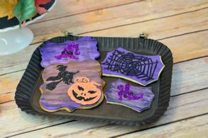 Halloween Edible Paper Cookies