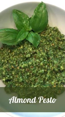 Almond Pesto Recipe