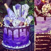 Drip Treat Cake