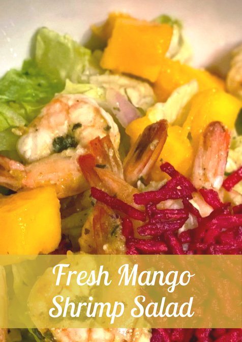 Fresh Mango Shrimp Salad Recipe