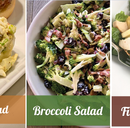 3 Salads Perfect Anytime of the Year!