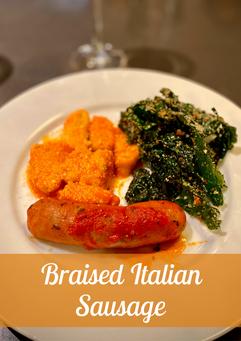 Braised Italian Sausage Recipe