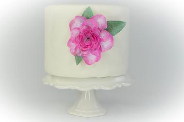 Edible Paper Roses