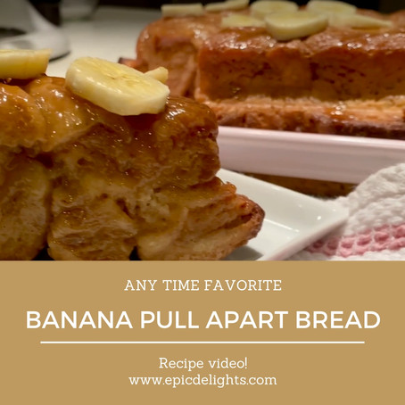 Try Our Banana Pull Apart Bread