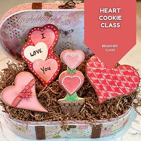 Heart Cookie Class