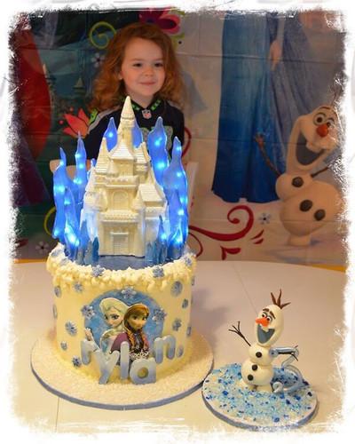 Frozen Isomalt & Chocolate Cake