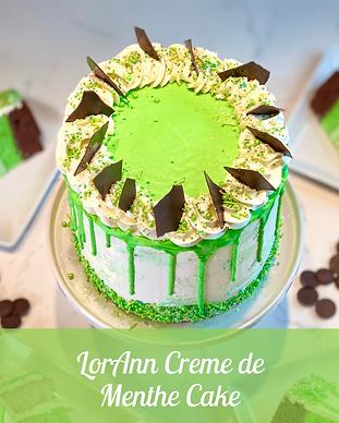 LorAnn Creme de Menthe Cake GalleryImage