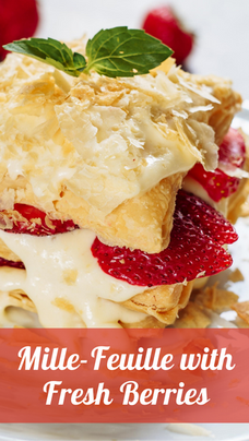 Mille-Feuille with Fresh Berries Recipe