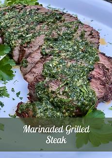Marinaded Grilled Steaks  GalleryImage (