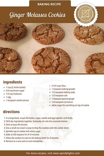Ginger Molasses Cookie Recipe.png