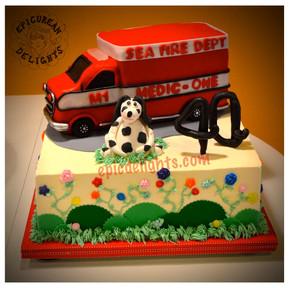 Medic One Cake