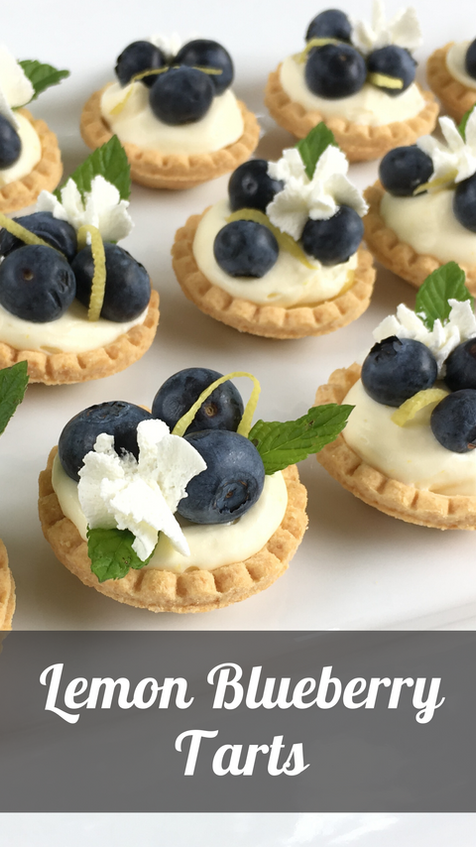 Lemon Blueberry Tarts