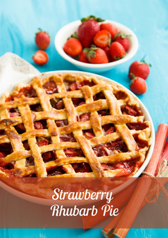 Strawberry Rhubarb Pie Recipe