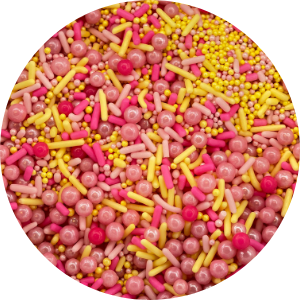 Pink Lemonade Sprinkle Mix