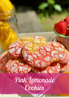 Pink Lemonade Cookie Recipe
