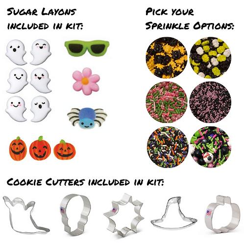 Halloween Cookie Kit