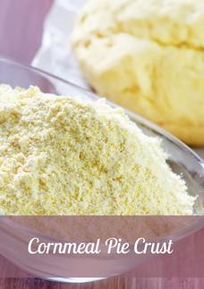Cornmeal Pie Crust Recipe
