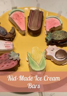 Kid-made ice cream bars Gallery Image.pn