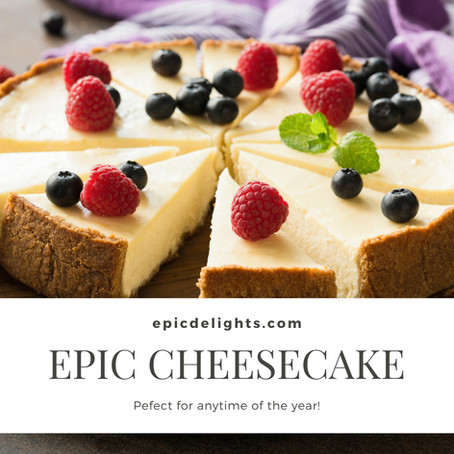 Time to Create Our Epic Cheesecake!