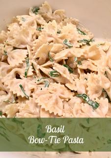Basil Bow-Tie Pasta Recipe
