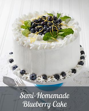Semi-homemade Blueberry Cake GalleryImag
