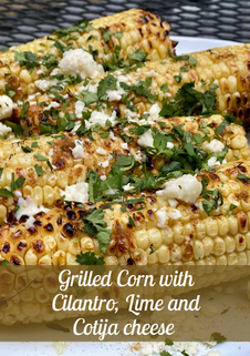 Grilled Corn with Cilantro