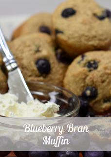 Blueberry Bran Muffin Gallery Image (1).