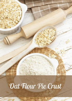 Oat flour Pie Crust Recipe