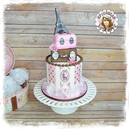 Paris Cake & Cookie Edible Designer Collection