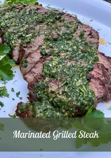 Marinated Grilled Steak
