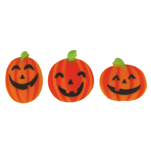 Sugar Pumpkin Trio (6 Pieces)