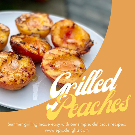 Grilled Peach Goodness