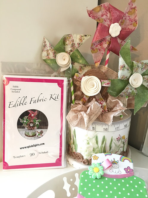 Edible Fabric Kit