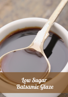 Low Sugar Balsamic Glaze Recipe