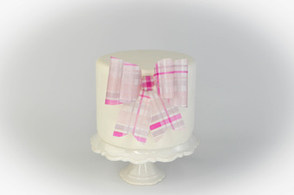 How to create a wafer paper bow
