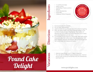 How to make Strawberry Pound Cake Trifle
