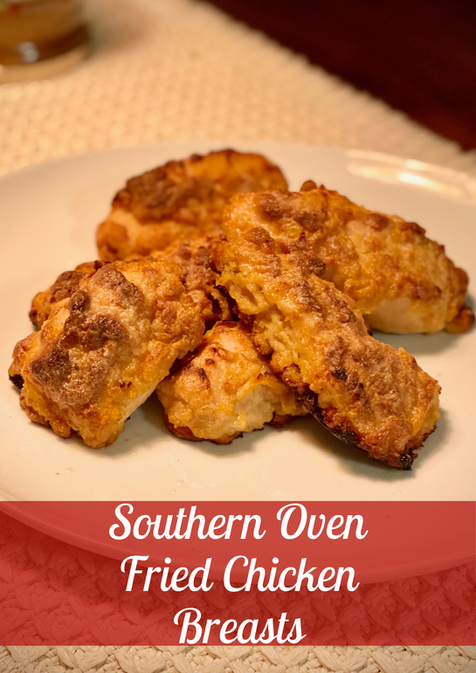 Southern Oven Fried Chicken Gallery Imag
