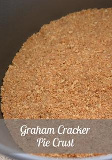 Graham Cracker Pie Crust Recipe