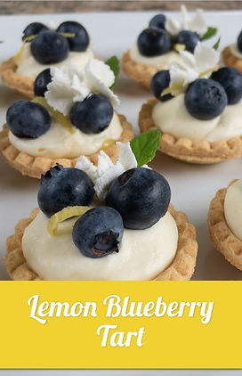 Lemon Blueberry Tart