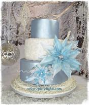 Wafer Paper Holiday Cake