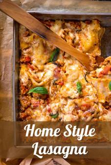 Home Style Lasagna Recipe