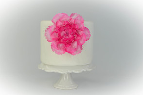How to create a wafer paper peony