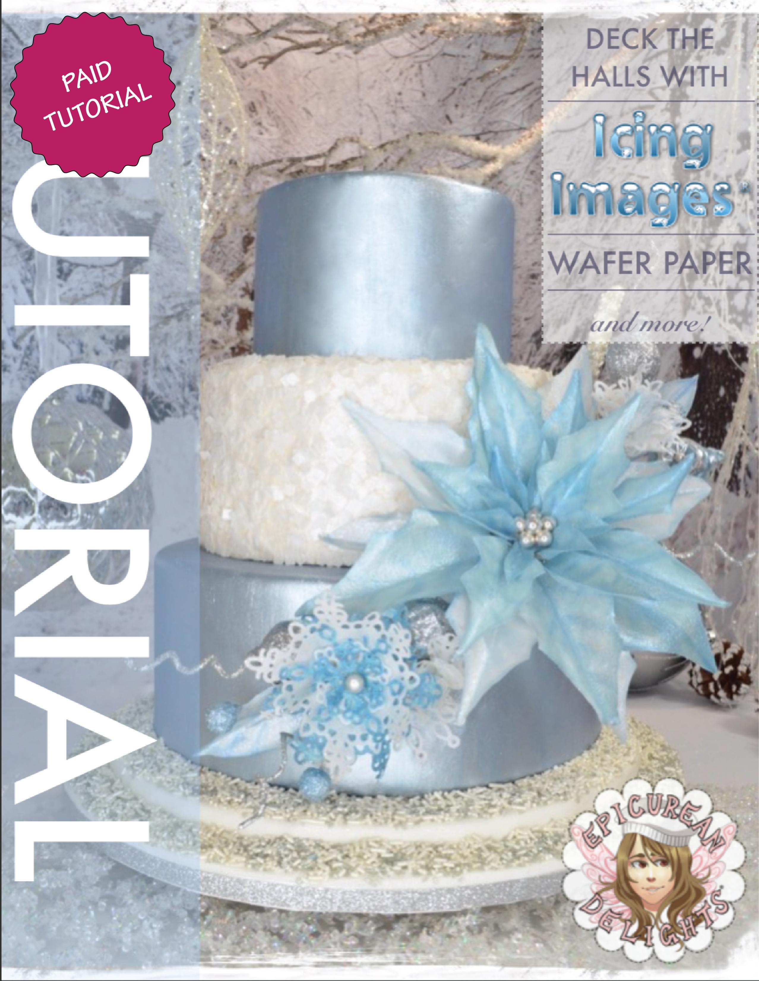 Winter Wonderland Wafer Cake