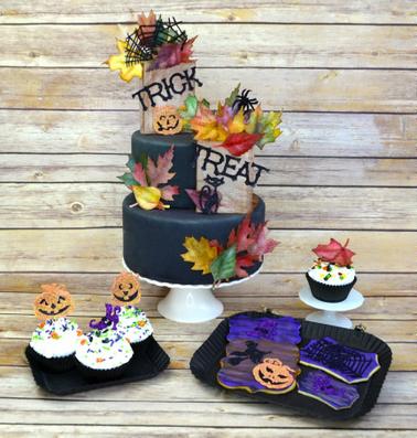 Edible Halloween Paper Treats